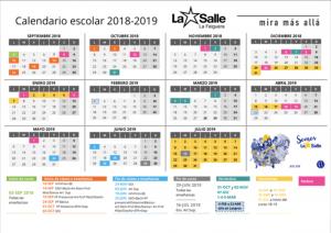 Calendario Escolar Asturias 2020 2019.Calendario Escolar La Salle La Felguera